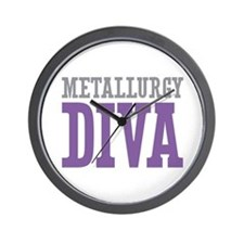 Metallurgy DIVA Wall Clock
