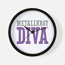 Metallurgy DIVA Wall Clock