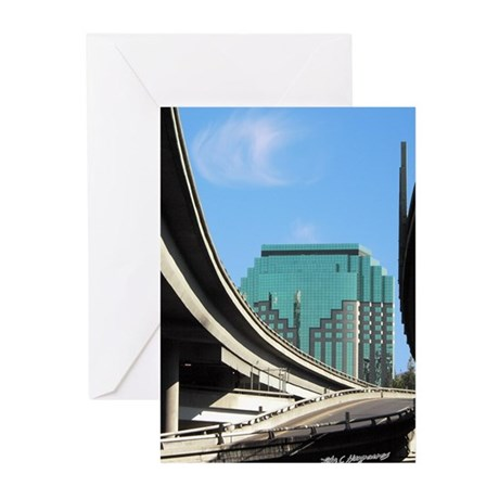 Downtown Sacramento Greeting Cards (Pack