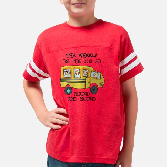 THE WHEELS ON THE BUS Youth Football Shirt