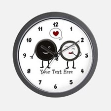 Cookies And Cream Wall Clock
