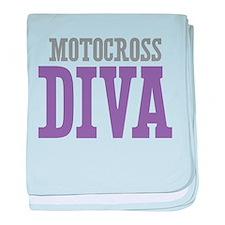 Motocross DIVA baby blanket