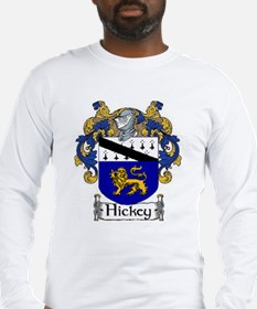 Hickey Coat of Arms Long Sleeve T-Shirt