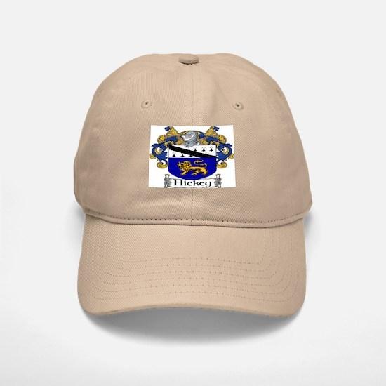 Hickey Coat of Arms Baseball Baseball Baseball Cap