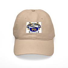 Hickey Coat of Arms Baseball Baseball Cap