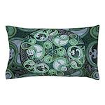 Celtic Stormy Sea Mandala Pillow Case