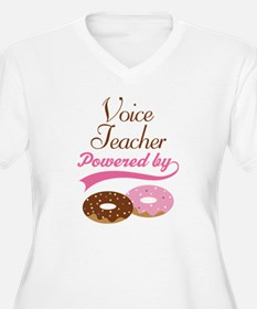 Voice Teacher Powered By donuts T-Shirt