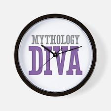 Mythology DIVA Wall Clock