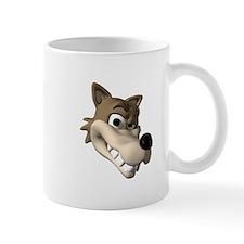 Funny Wolf Face Mug