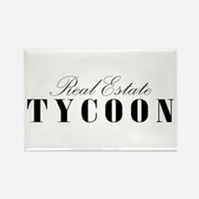 RE Tycoon Rectangle Magnet