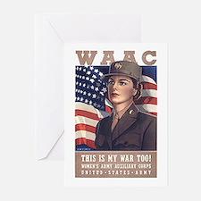 WAAC Greeting Cards (Pk of 10)