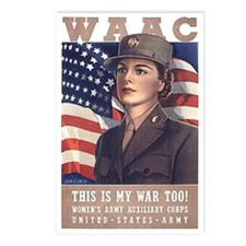 WAAC Postcards (Package of 8)