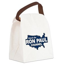 Watch The Ron Paul Channel! Canvas Lunch Bag