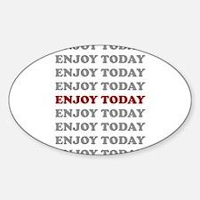 Unique Optimistic Sticker (Oval)