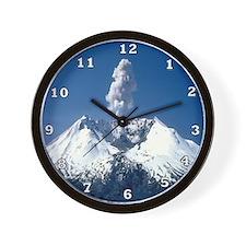 Mt. St. Helens Wall Clock