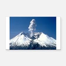 Mt. St. Helens Rectangle Car Magnet