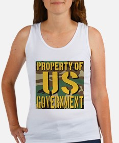 Property of US Government Women's Tank Top