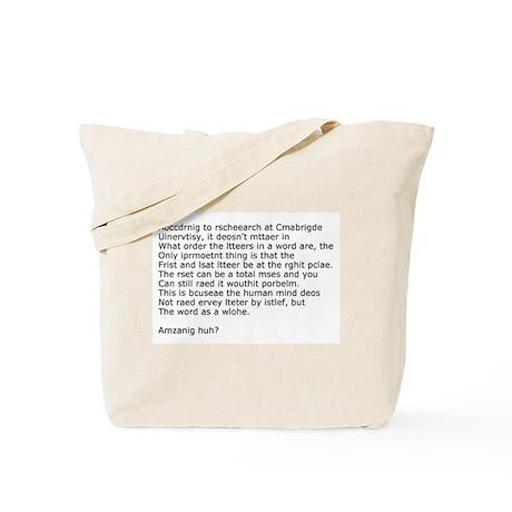 Amazing Huh Tote Bag