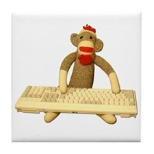 Code Monkey Tile Coaster