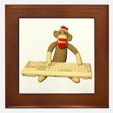 Code Monkey Framed Tile