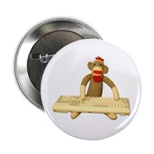 """Code Monkey 2.25"""" Button (10 pack)"""