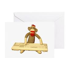 Code Monkey Greeting Cards (Pk of 10)