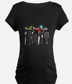 Draw Paint Create (Color) T-Shirt