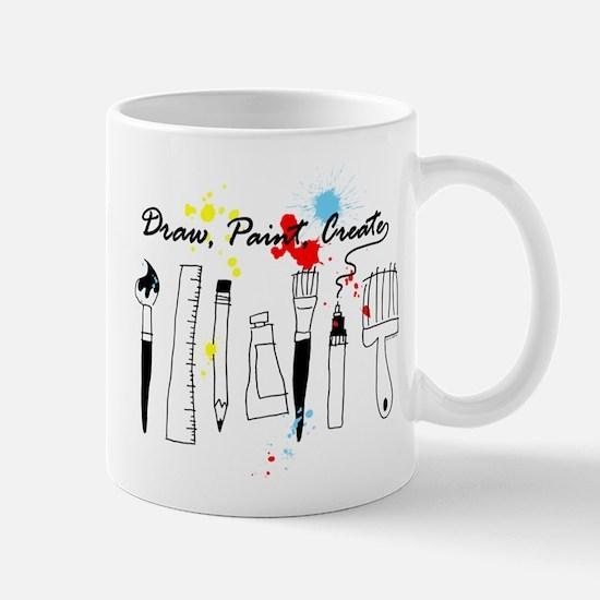 Draw Paint Create (Color) Mug