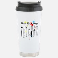 Draw Paint Create (Color) Travel Mug