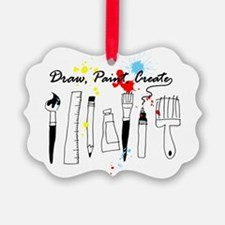 Draw Paint Create (Color) Picture Ornament