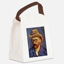 VanGough Incognito Canvas Lunch Bag