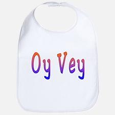 Yiddish Oy Vey Bib