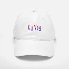 Yiddish Oy Vey Baseball Baseball Cap