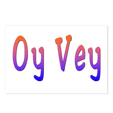 Yiddish Oy Vey Postcards (Package of 8)
