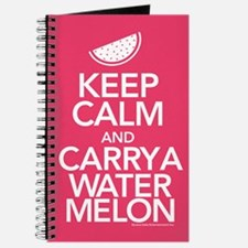 Keep Calm Carry a Watermelon Journal
