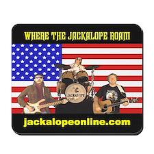 Where the Jackalope Roam Mousepad