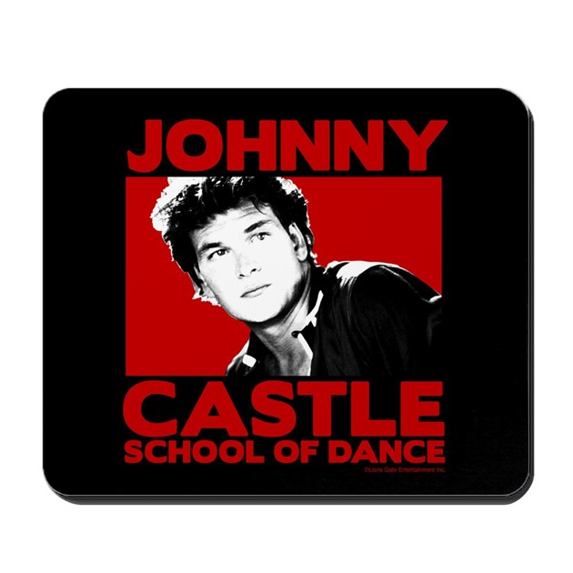 Johnny Castle Dance Bold Mousepad By Dirty Dancing