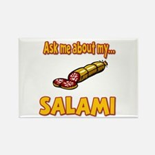 Funny Ask Me About My Salami Innuendo Humor Rectan