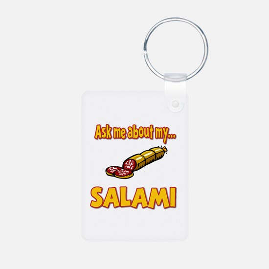 Funny Ask Me About My Salami Innuendo Humor Alumin