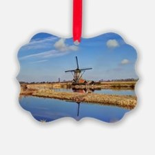 Windmill in Holland Ornament