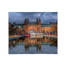 I Heart Amsterdam Throw Blanket