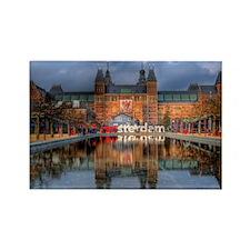 I Heart Amsterdam Rectangle Magnet