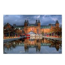 I Heart Amsterdam Postcards (Package of 8)