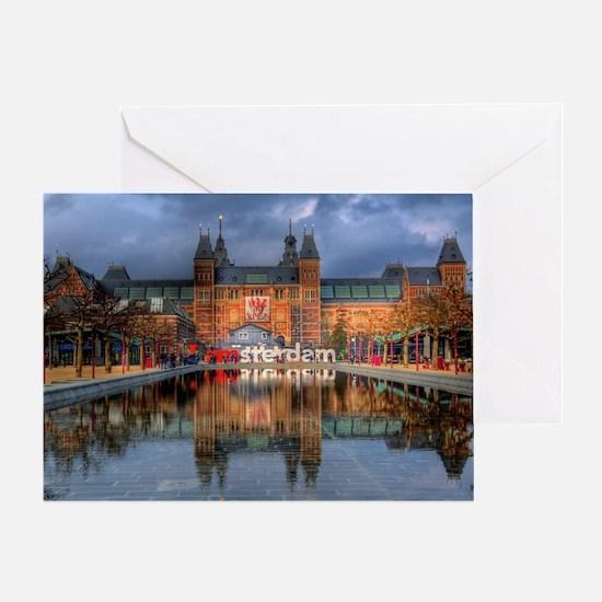 I Heart Amsterdam Greeting Card