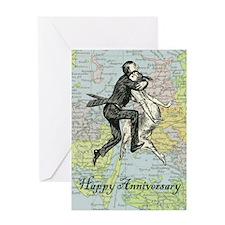 Dancing Anniversary Greeting Card