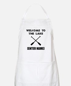 Welcome Lake [Personalize It!] Apron