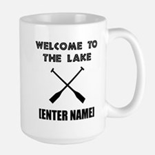 Welcome Lake [Personalize It!] Mug