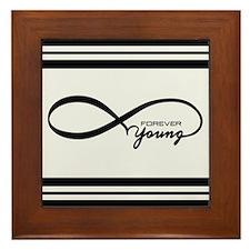 Forever Young Framed Tile