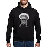 Indian Headdress Monkey Hoodie