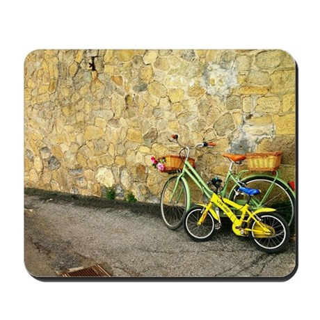 Vintage Bicycles Mousepad